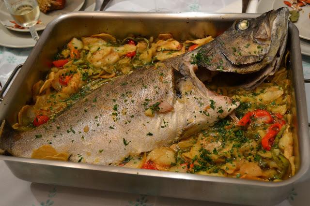 Gastronomía En Verso Mero Al Horno Con Hortalizas